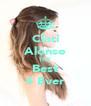 Clari Alonso THE Best 4 Ever - Personalised Poster A4 size