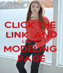 CLICK THE  LINK  AND LIKE MY MODELING  PAGE - Personalised Poster A4 size