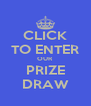 CLICK TO ENTER OUR PRIZE DRAW - Personalised Poster A4 size