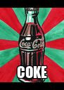 COKE - Personalised Poster A4 size