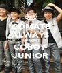COMATE ALWAYS SUPPORT COBOY  JUNIOR - Personalised Poster A4 size