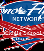 Come to the Algona  Middle School Concert - Personalised Poster A4 size