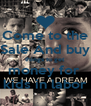 Come to the Sale And buy things to get money for  kids in labor - Personalised Poster A4 size
