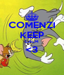 COMENZI KEEP CALM <3  - Personalised Poster A4 size