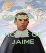 CONGRATS   HOUSE OF JAIME - Personalised Poster A4 size