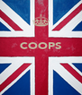 COOPS    - Personalised Poster A4 size