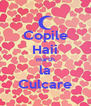 Copile Haii marsh la Culcare - Personalised Poster A4 size