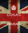 COSAS  RARAS  - Personalised Poster A4 size