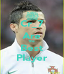 Cr_7 Are The Best Player - Personalised Poster A4 size