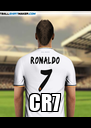 CR7 - Personalised Poster A4 size