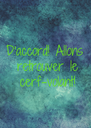 D'accord! Allons  retrouver le  cerf-volant! - Personalised Poster A4 size