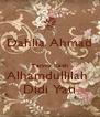 Dahlia Ahmad  Terima Kasih Alhamdullilah  Didi Yati - Personalised Poster A4 size