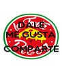 DALE ME GUSTA Y COMPARTE  - Personalised Poster A4 size