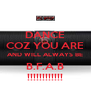 DANCE COZ YOU ARE AND WILL ALWAYS BE B.F.A.B !!!!!!!!!!!! - Personalised Poster A4 size