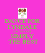 DANCE FOR LYNDALE COS WE OUR SIMPLY  THE BEST - Personalised Poster A4 size