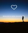Dania você é o amor da minha vida     - Personalised Poster A4 size