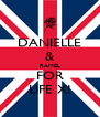 DANIELLE & RAMEL FOR LIFE X! - Personalised Poster A4 size