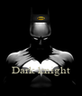 Dark knight - Personalised Poster A4 size