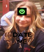 DATE ME - Personalised Poster A4 size