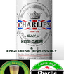 .. DAY .. KEEP CALM & BINGE DRINK RESPONSIBLY - Personalised Poster A4 size