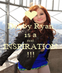 Debby Ryan is a real INSPIRATION !!! - Personalised Poster A4 size