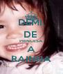 DEMI, DE  PRINCESA A RAINHA - Personalised Poster A4 size