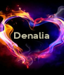 Denalia    - Personalised Poster A4 size