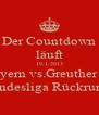 Der Countdown läuft 19.1.2013 Fc Bayern vs.Greuther Fürth Bundesliga Rückrunde - Personalised Poster A4 size