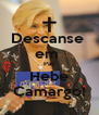 Descanse  em  Paz Hebe Camargo! - Personalised Poster A4 size