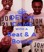 DETON CAME WITH A Beat & A Bouce - Personalised Poster A4 size