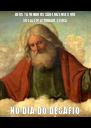DEUS TÁ VENDO OS SÃO-LUIZENSES QUE SÓ FAZEM ATIVIDADE FÍSICA NO DIA DO DESAFIO - Personalised Poster A4 size