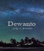 Dewanto  @Ig: r_dewanto   - Personalised Poster A4 size