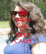 Diana Can  Not KEEP CALM - Personalised Poster A4 size