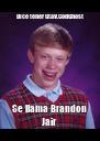Dice tener GtaV.CodGhost Se llama Brandon Jair - Personalised Poster A4 size