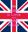 DIMi is Love AND DIMI is Life - Personalised Poster A4 size