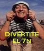 DIVERTITE EL 7N - Personalised Poster A4 size