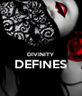 DIVINITY DEFINES  - Personalised Poster A4 size