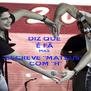 """DIZ QUE  É FÃ  MAS  ESCREVE """"MATEUS""""  COM """"H"""" - Personalised Poster A4 size"""