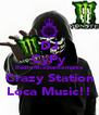 DJ CyPy RadioMixStarRomania Crazy Station Loca Music!! - Personalised Poster A4 size