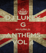 DJ LUKEY G BOUNCE ANTHEMS VOL 4 - Personalised Poster A4 size