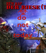 do  not die  today  - Personalised Poster A4 size