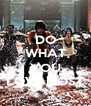 DO WHAT  YOU LOVE MOST - Personalised Poster A4 size