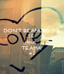 DON'T BE AFRAID TO SE  JESUS  TE AMA! <3 - Personalised Poster A4 size