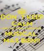 DON´T KEEP CALM AND ESTUDIE LENGUAJE MUSICAL  MAS BIEN!! - Personalised Poster A4 size