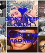 DON'T KEEP CALM AND START THE MADNESS - Personalised Poster A4 size