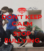 DON'T KEEP CALM AND STOP BULLYING - Personalised Poster A4 size