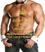 DON'T KEEP CALM BECAUSE  WE ARE GOING TO THE CHIPPENDALES - Personalised Poster A4 size