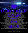 DON'T KEEP CALM CAUSE I'M ELF !! - Personalised Poster A4 size
