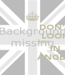 DON'T                 LOOK                 BACK                    IN                    ANGER  - Personalised Poster A4 size