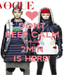 DONT KEEP CALM CAUSE 2MIN IS HERE! - Personalised Poster A4 size
